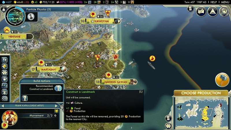 The culture bomb in Civ V is one of the weirdest options at your disposal. If you're going for a cultural victory then you'll likely spawn some Great Artists in […]