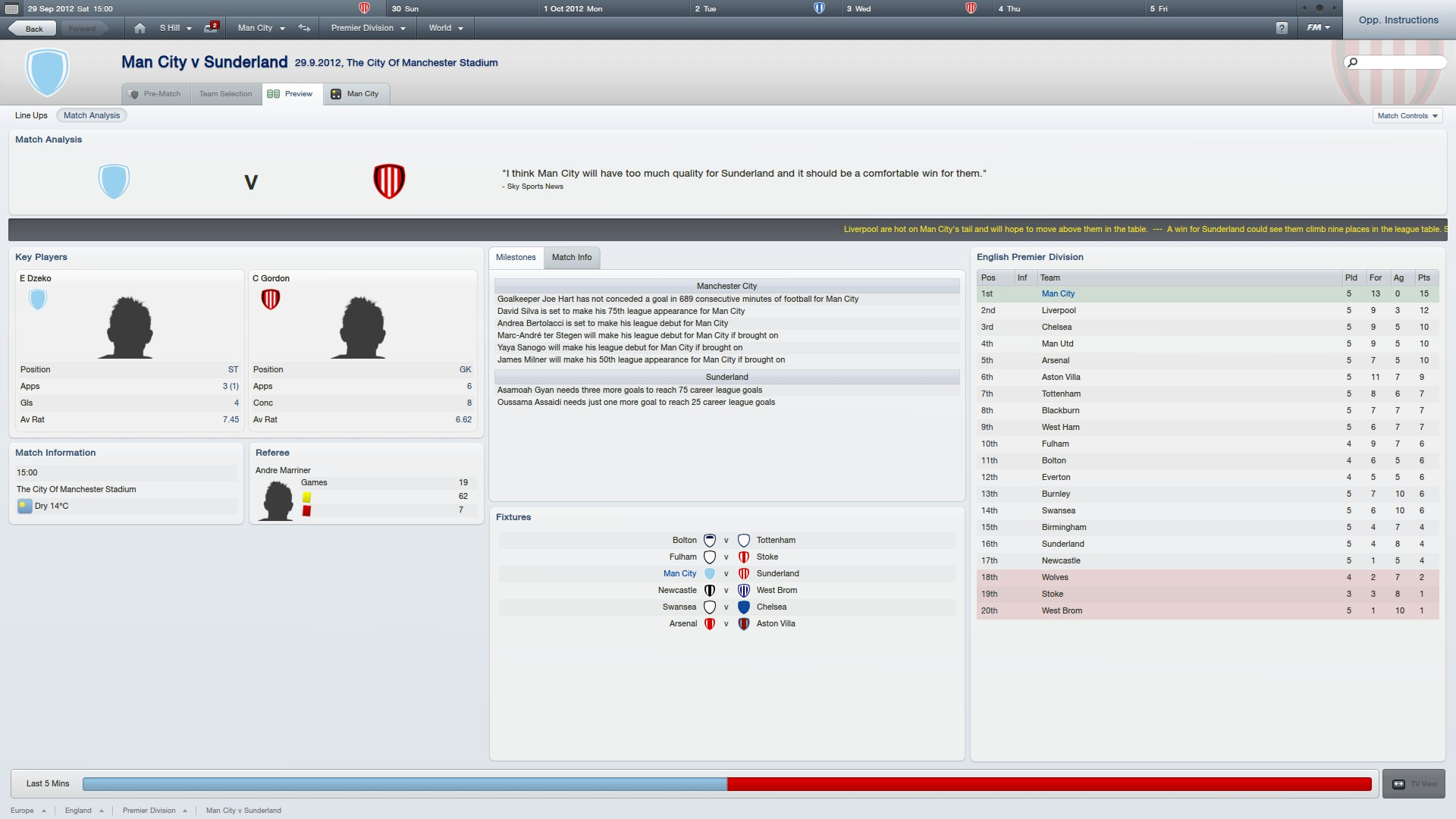 There are a few significant tweaks and additions in Football Manager 2012 and the team talk system is one of the biggest. You'll find that the match screen is much...
