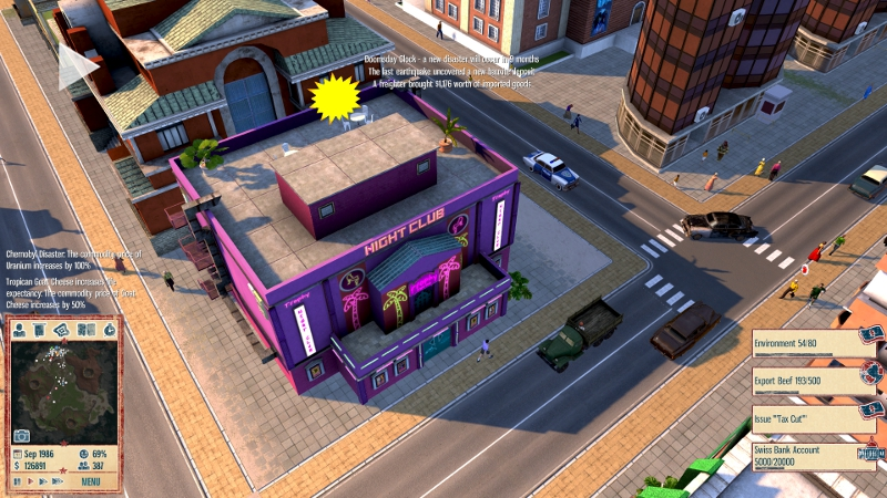 You don't often find city building sims infused with a political flavour but the Tropico series isn't like other games. I've been hooked since the Gathering of Developers released the...