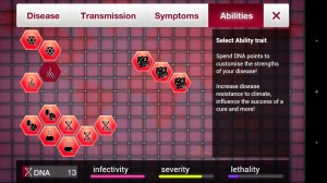 Plague Inc. abilities