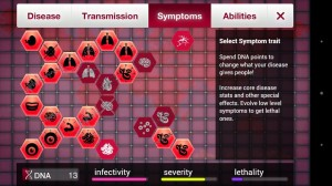 Plague Inc symptoms